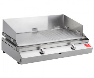Paraspruzzi 80 cm per barbecue pla.net chef