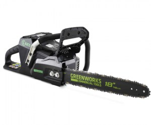 MOTOSEGA A BATTERIA GREENWORKS 82 VOLT  GC82CS