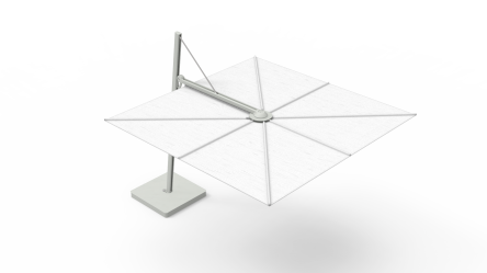 Spectra UX Cantilever umbrella - architectural top view